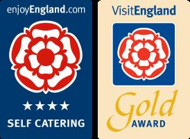 Visit England 4 Star Gold Award